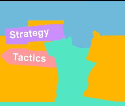 厳しい業界を生き抜く為の戦略と戦術